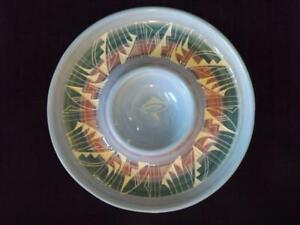 """Navajo Silas Claw Native American Southwest Indian Pottery 12"""" Chip N Dip"""