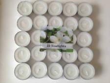 Jasmine Fragranced Scented Tealights Tea Light Candles Choose Number of Candle