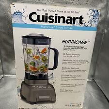 Cuisinart CBT-1500 Hurricane Gunmetal  Plastic Blender Size 2.25 Peak L142