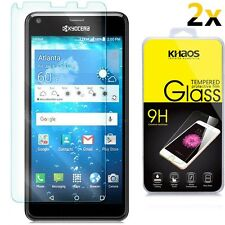 [2-Pack]-KS For Kyocera Hydro View C6742 Tempered Glass Screen Protector