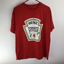 Heinz Tomato Red T-Shirt Large