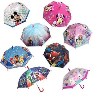 Children's POE Umbrella Disney / Character - Choose Design
