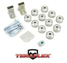 "TeraFlex TJ 1"" Body Lift Spacer Kit - Aluminum for 1997-2006 Jeep Wrangler"