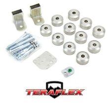 """TeraFlex TJ 1"""" Body Lift Spacer Kit - Aluminum for 1997-2006 Jeep Wrangler"""