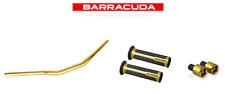 BARRACUDA Manubrio 28/22 Manopole Contrappesi ORO Ducati Monster 796 797 800
