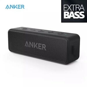 NEW✅ ANKER Soundcore Bluetooth Speaker with Stereo Sound Waterproof 24H PlayTime