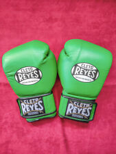 Green Reyes 10oz boxing gloves gants de boxe