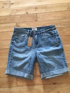 BNWT Ladies Hush Blue Denim Shorts Size 10 Were £49