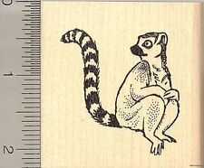 Lemur rubber stamp H10913 WM