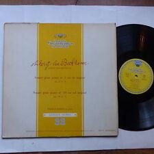 BEETHOVEN Sonates 3 10 WILHELM KEMPF Piao DGG TULIP 18079