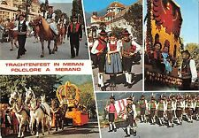 BT3030 trachtenfest in Meran horses chevaux folklore costume    Italy