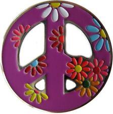 Lavender Peace Sign Golf Ball Marker & Peace, Love, & Golf Hat Clip