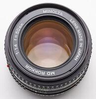 Minolta MD Rokkor 50 mm 50mm 1.4 1:1.4 - Ø 55mm Filtergewinde
