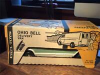 Vintage 70's ERTL Pressed Steel Ohio Bell Delivery Van Truck nMIB