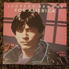 "JACKSON BROWNE - For America ~7"" Vinyl Single~"