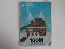 MIDLAND 100 M (solo manuale del proprietario)... RADIO _ Trader _ Irlanda.