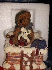 Boyd's Bears Retired Ellijah & Joy Christmas Musical Figurine #270503 New