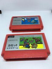 Mario & Balloon Fight NES FAMICOM - Famiclone Cardridges - Untested