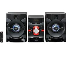 JVC MX-DN550 MEGASOUND HI-FI STEREO SYSTEM 400W RMS BLUETOOTH USB CD PLAYER *