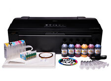 Epson 1500w Sublimation ink printer bundle - with ciss and 6 x 100ml ink A3