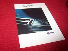 Catalogue /  Brochure SAAB 9000 1991 //