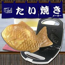 Taiyaki ELECTRIC GRILL PAN  (Fish Shaped Pancakes Filled With Sweet Red Beans )