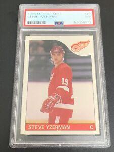 1985 OPC O-Pee-Chee #29 Steve Yzerman PSA 7 NM Near Mint HOF 2nd Yr