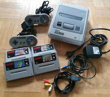 Nintendo Snes, 2 Controller, 4 Spiele