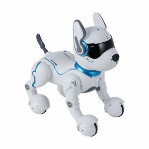 New Remote Control Dog Pet Puppy Robotic Interactive Toy For Kids Christmas 2021