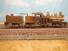 "HO UNITED PFM BRASS 3-TRUCK CLASS ""B"" SHAY GEARED STEAM LOCOMOTIVE"