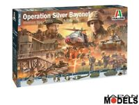 OPERATION SILVER BAYONET Vietnam 1965 Diorama Italeri No.6184 1/72 Model Kit New