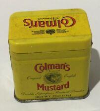 Vintage Coleman's Mustard Tin