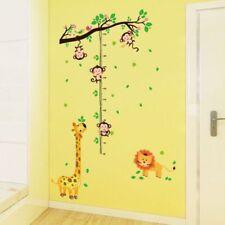 Kinderzimmer Wandtattoo Wandbild Messlatte Dschungel Löwe Giraffe Affe Kind