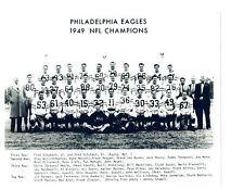 1949 PHILADELPHIA EAGLES TEAM 8X10  PHOTO   FOOTBALL NFL LEAGUE CHAMPIONS