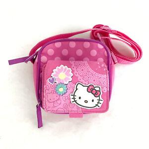 Hello Kitty Sanrio Side Bag Crossbody Pink Flower Women Kids
