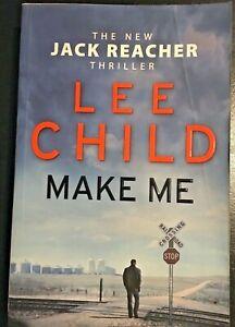 MAKE ME by Lee Child - a Jack Reacher crime thriller