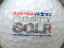 (1) American Airlines Celebrity Golf Logo Golf Ball