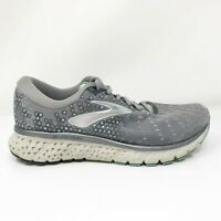 Brooks Womens Glycerin 17 1202831D070 Gray Running Shoes Lace Up Size 6 D