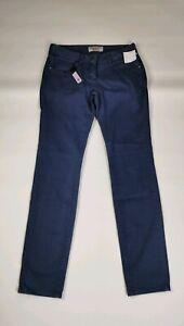 L510 MENS PENGUIN BY MUNSINGWEAR BLUE COTTON PANTS JEANS, W30 L32