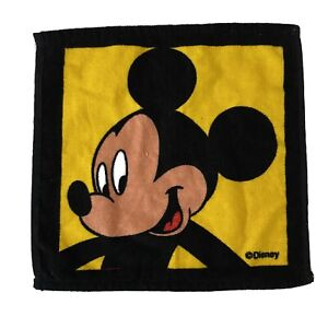Mickey Mouse Disney Vintage 90's Washcloth Face Washer Flannel