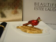 "Estee Lauder Solid Perfume Compact 2003 ""Cardinal"""