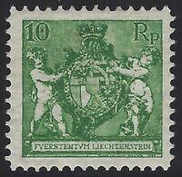 Liechtenstein - Scott # 59a - perf 12.5 - Mint OG Very Light Hinged