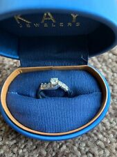 Wedding Ring Set.    These are 14 karat diamond rings. Perfect condition.