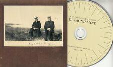 KING CREOSOTE & JON HOPKINS Diamond Mine 2011 UK 7-track promo CD