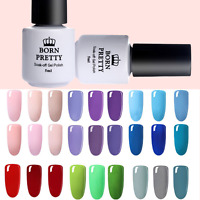 BORN PRETTY 5ml UV LED Gel Nail Polish Set Soak Off Nail Art Varnish