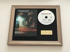 SIGNED/AUTOGRAPHED YOU ME AT SIX - NIGHT PEOPLE  FRAMED CD PRESENTATION. RARE