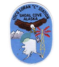 "4.88"" Coast Guard Loran C Station Shoal Cove Alaska Embroidered Patch"