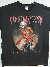 NEW - CANNIBAL CORPSE TORTURE 2012 TOUR / CONCERT / MUSIC T-SHIRT EXTRA LARGE