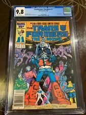 Transformers the Movie #1 CGC 9.8 Newsstand White Pages