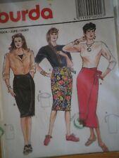 Burda 4022 Sewing Pattern Skirt  Vintage Original